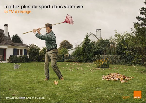 orange tv ad print add more sports in your life
