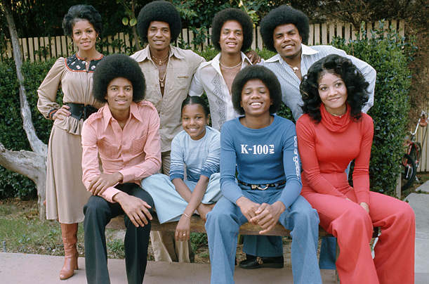 the jacksons + michael jackson