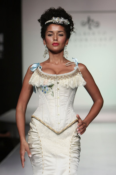 Blanca Estela Sanches mexico fashion week