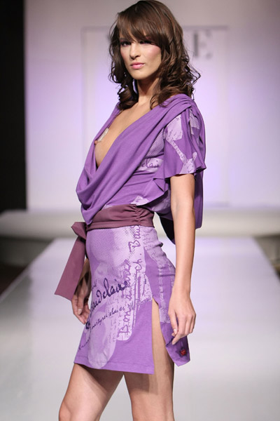 Violet by Vogue Spring-Summer 2008 fashion show
