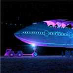 Boeing 747 на фестивале Burning Man
