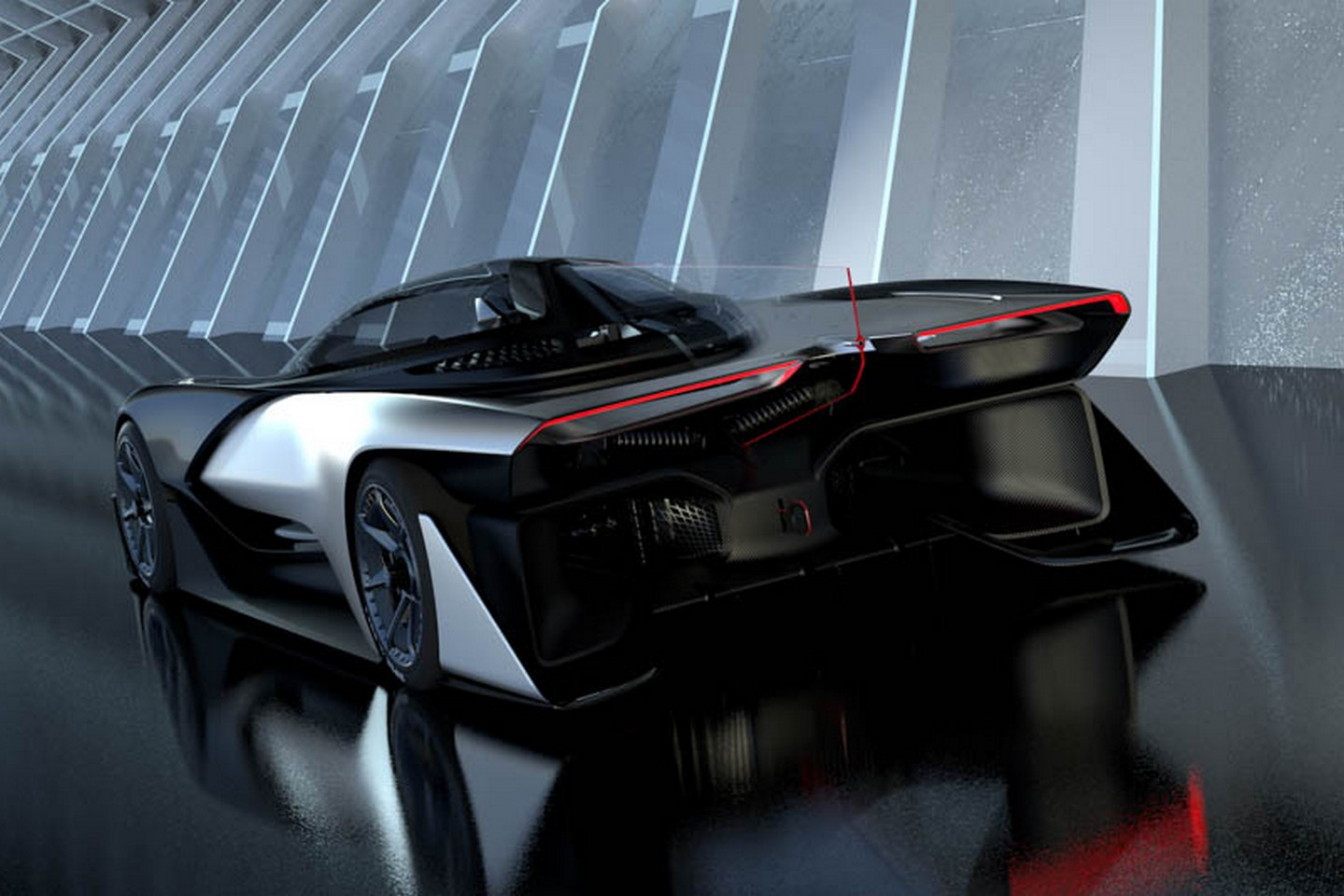������ ������� ���������������� Faraday Future FFZero1