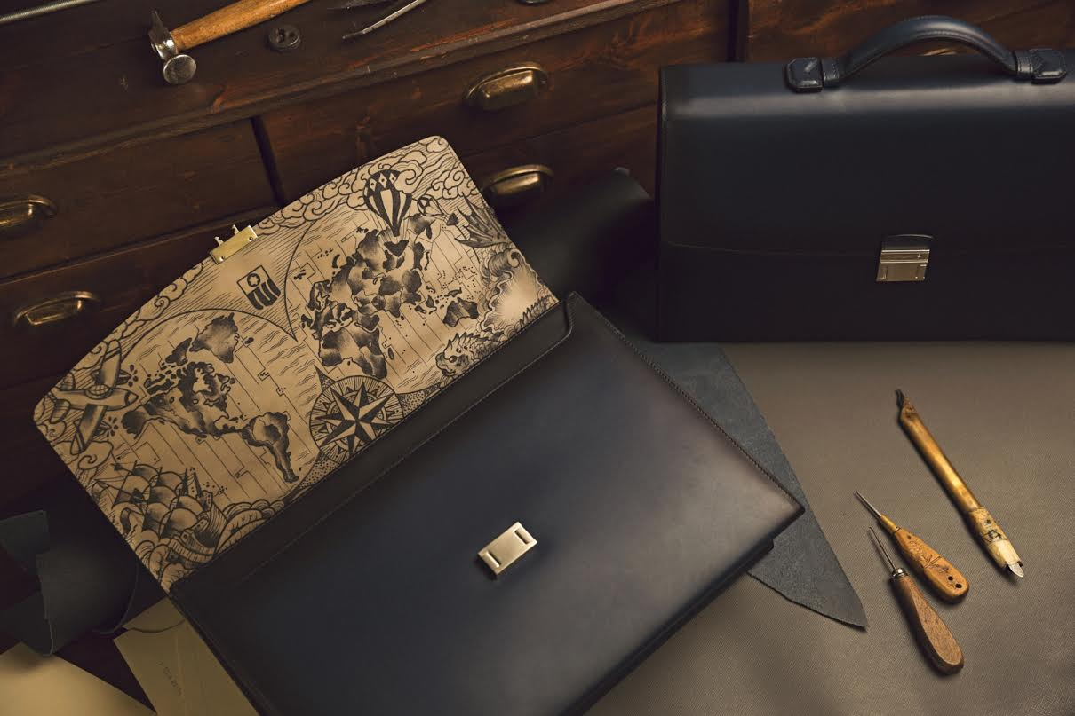 Портфели Montblanc Secret Adornment Tattoo Edition