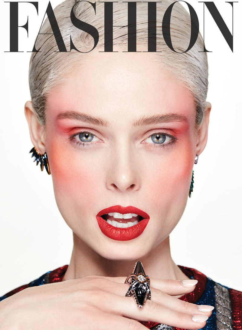 Coco Rocha Cover Shoot | Behind the Scenes - YouTube