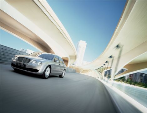 Bentley Continental Flying Spur Ларри Эллисона