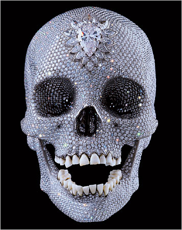 diamond skull by damien hirst for the love of god