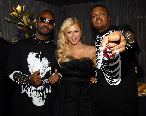paris hilton three 6 mafia