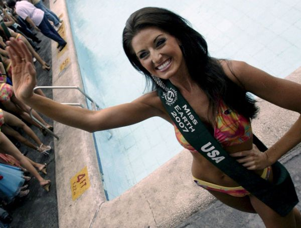 miss earth 2007 american contestant usa