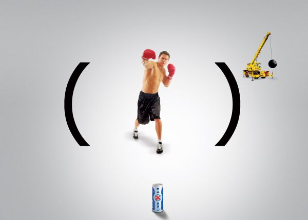 maxxxx energy ad print - energy drinks advertising by jotabequ grey