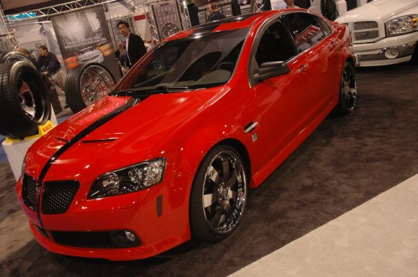 50 cent and Unique Autosports present Pontiac g8