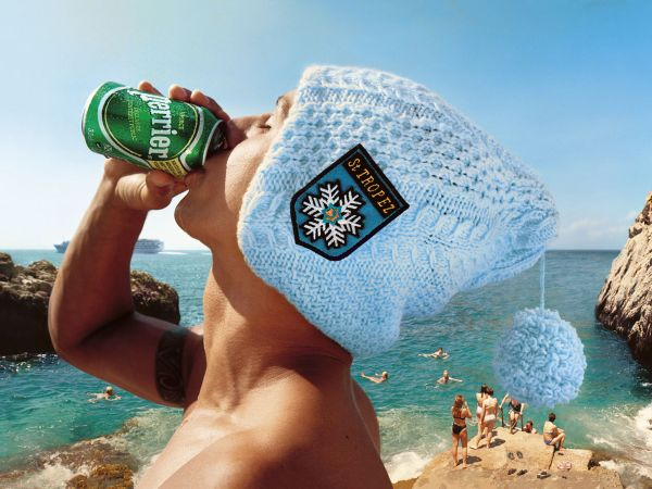 perrier advertising - st tropez