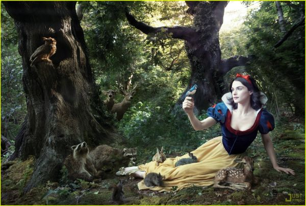 Рэйчел Уэйц в роли Белоснежки для Диснея - rachel weisz as snow white
