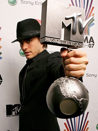 jared leto 30 seconds to mars mtv europe music awards 2007