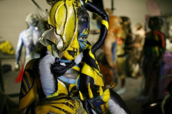 Bodyspectra bodypainting competition