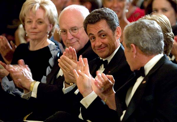 nicolas sarkozy first official visit to united states of america
