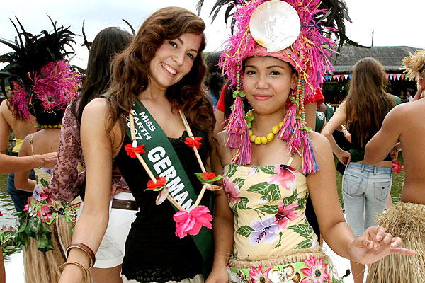 miss earth germany and miss earth philippines