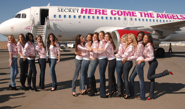 victoria's secret here come the angels