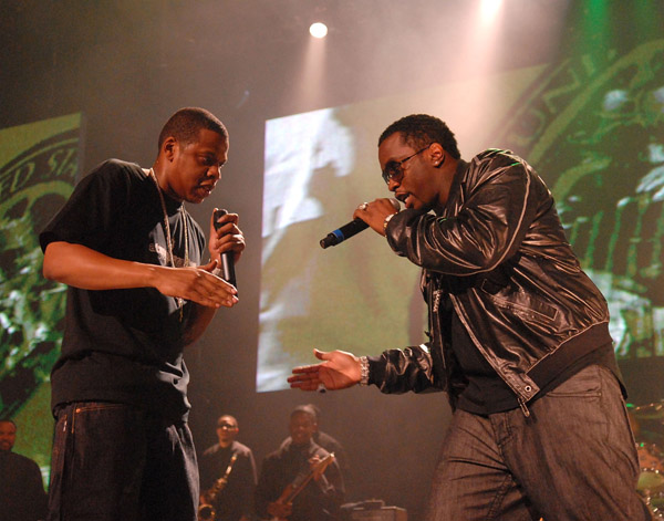jay-z and diddy sean combs in new york