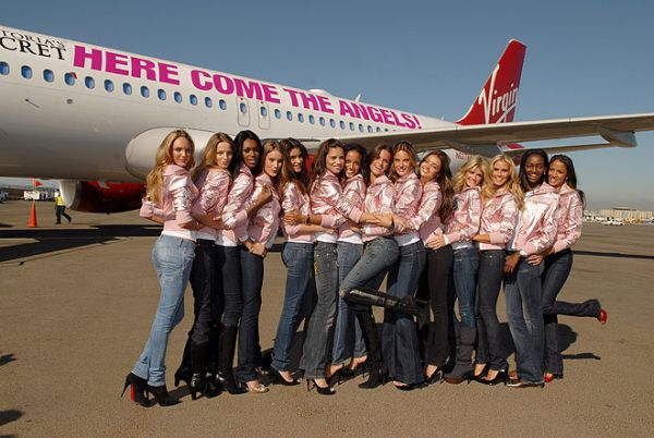 victorias secret airplane