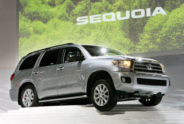new toyota sequoia at los angeles auto show 2007 - second generation toyota sequoia