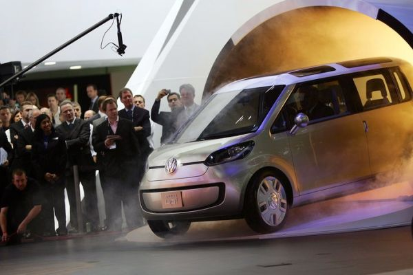 Volkswagen unveils its latest concept car the Space Up! Blue