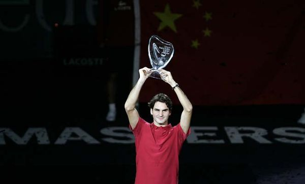roger federer wins masters series for the 4th time