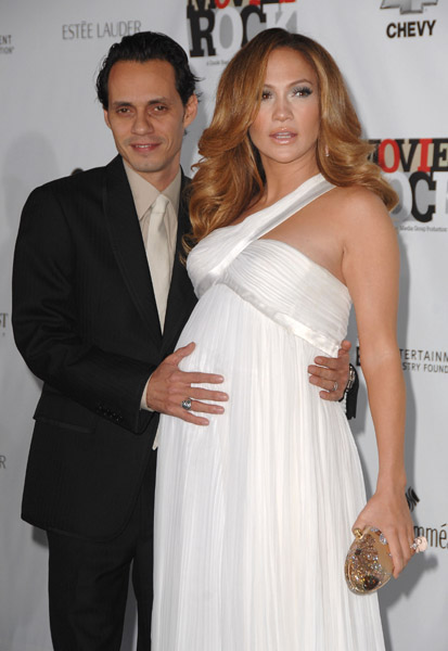 jennifer lopez and marc anthony at movies rock 2007