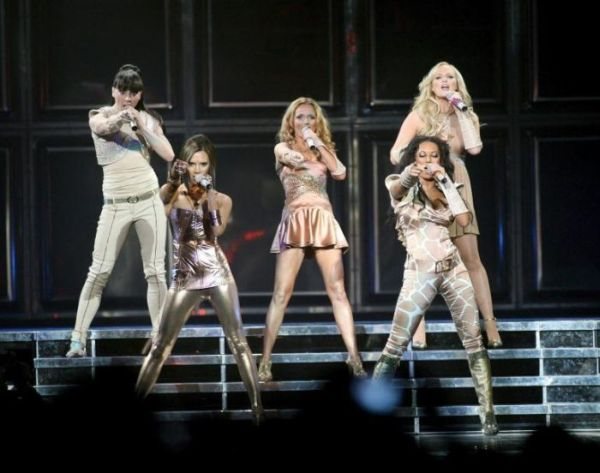 spice girls reunited for world tour