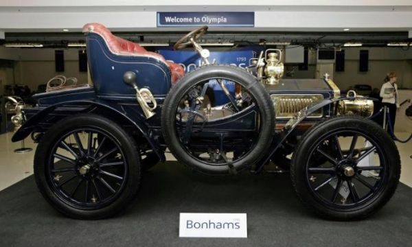 oldest rolls-royce sold at bonhams auction in london