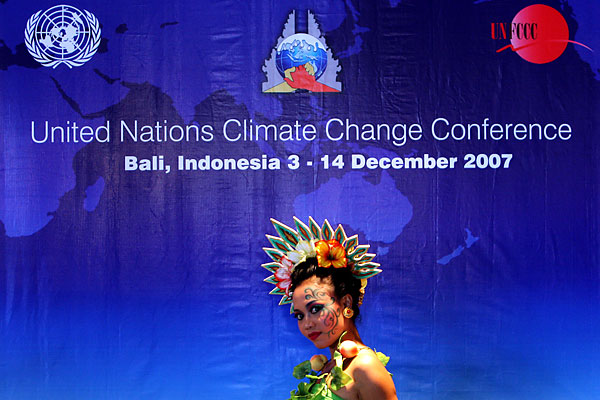 united nations climate change conference in bali indonesia