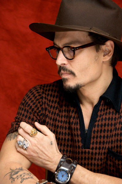 johnny depp sweeney todd press conference