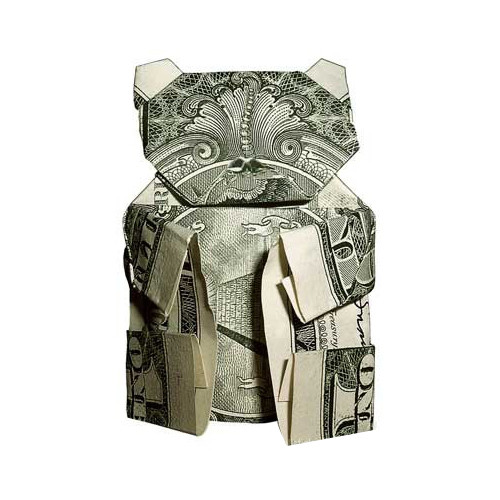 The Art Of Moneygami - Origami With Bills.