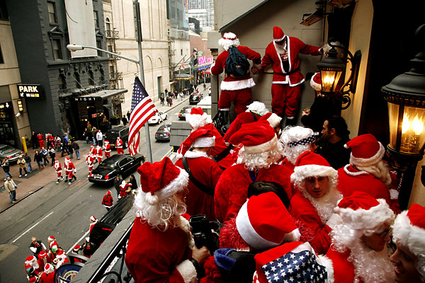 santacon festival in new york