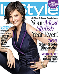 katie holmes instyle january 2008