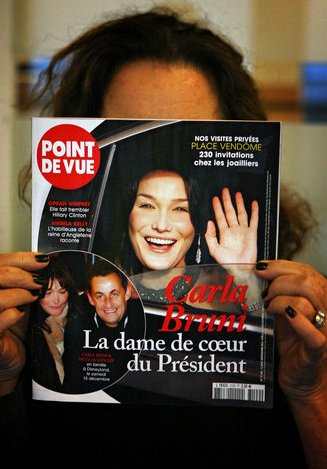 carla bruni point de vue cover