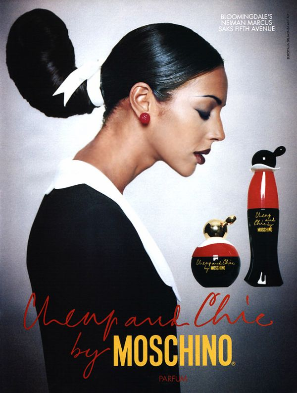 moschino fashion ad