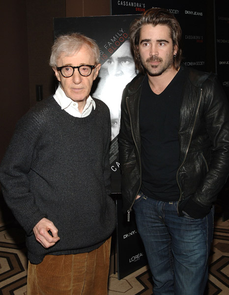 вуди аллен и колин фаррелл woody allen colin farrell cassandra's dream