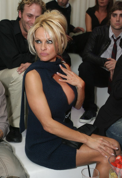new year with pamela anderson
