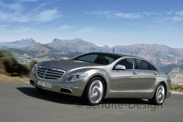 mercedes s-class new from the future