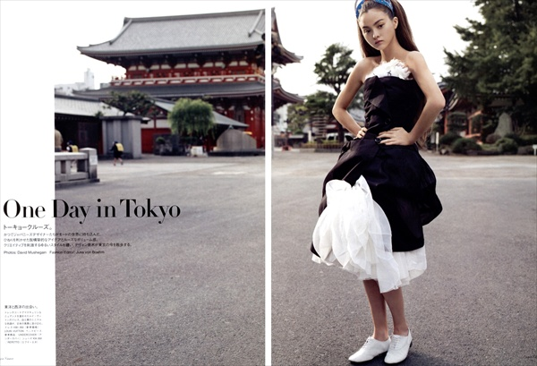 devon aoki one day in tokyo vogue nippon february 2008