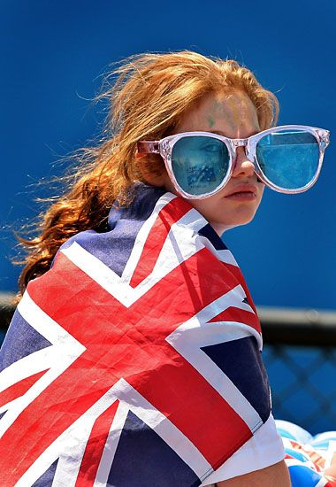 australian open melbourne some british fan