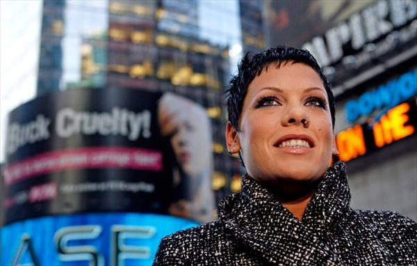 interview with pink for peta campaign пинк дает интервью