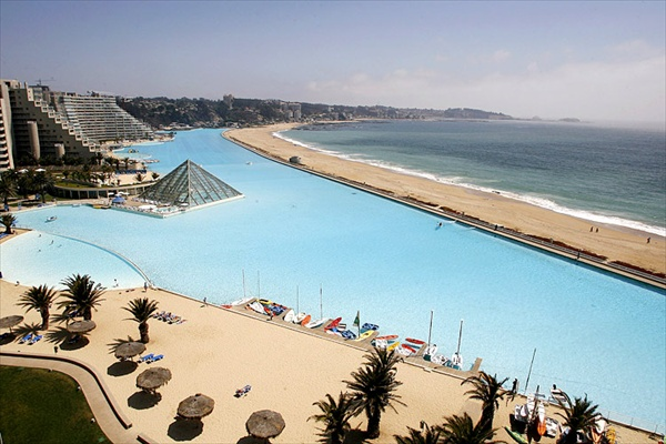 san alfonso largest swimming pool in chile