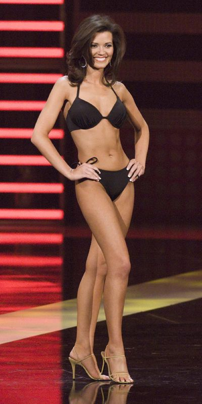 hannah kiefer miss virginia at miss america contest 2008 in las vegas