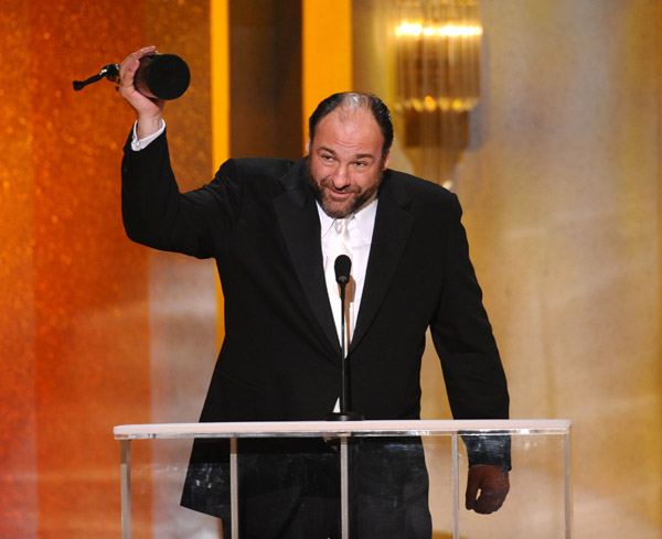 james gandolfini sag awards джеймс гандолфини