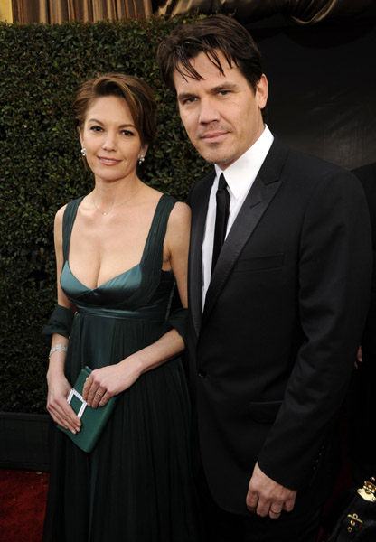 джош бролин и дайан лэйн josh brolin and diane lane sag awards