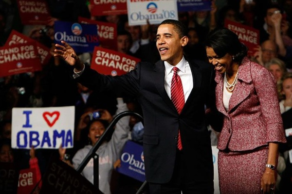 barack obama with his wife michelle