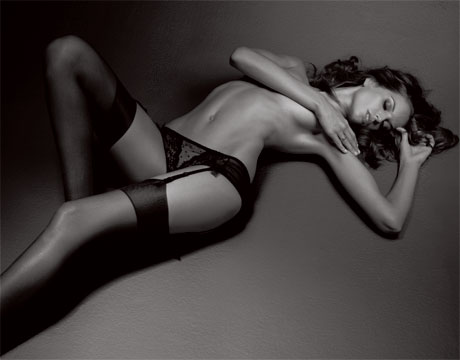 izabel goulart black stockings esquire