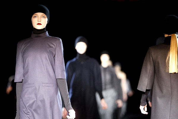hugo boss fashion show at berlina fashion week