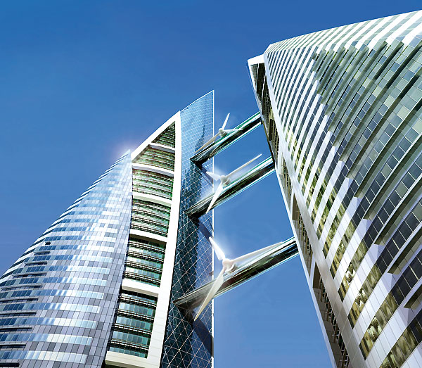 The Bahrain World Trade Center Towers